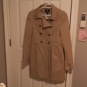 Size 10 H&M trench coat